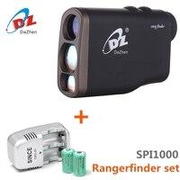 1000M Handheld Laser Range Finder Monocular Distance Measure Range Meter Rangefinder Waterproof Telescope Velocimetry Tester