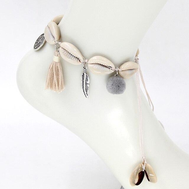 Bracelet de cheville bohème 3
