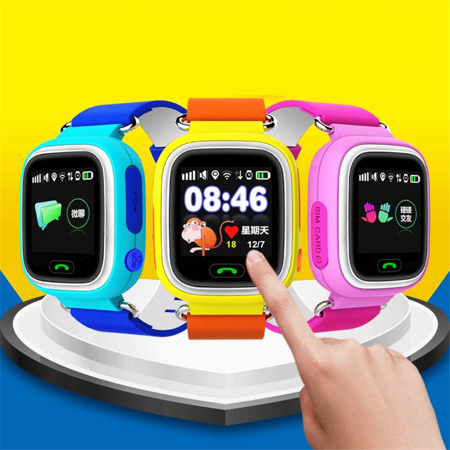 Bluetooth ChildSmart Watch Kid Boy Girl font b SmartWatch b font Phone td02 Intelligent Clock Support