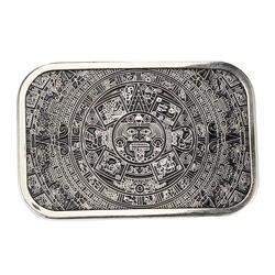 Высокое качество Прохладный ацтекский Календарь мужской металлический ремень пряжка подходит см 3,8 см широкий ремень джинсы аксессуары