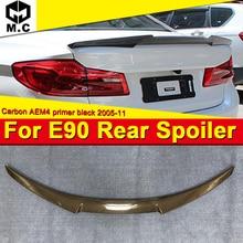 E90 M3 sedan duckbill tail True Carbon fiber M4 style For BMW 3 series 320i 325i 330i 335 320d 325d wing rear spoiler 2005-2011 цены онлайн