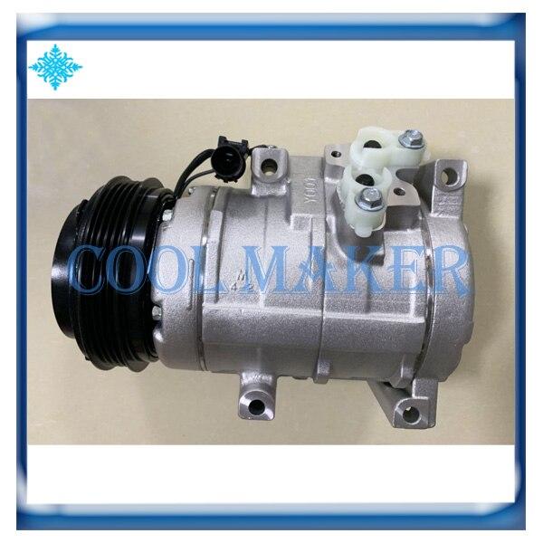 10S20C compressor for Kia Grand Carnival Sedona 2 9 97701 4D100 447260 6111 447260 6112