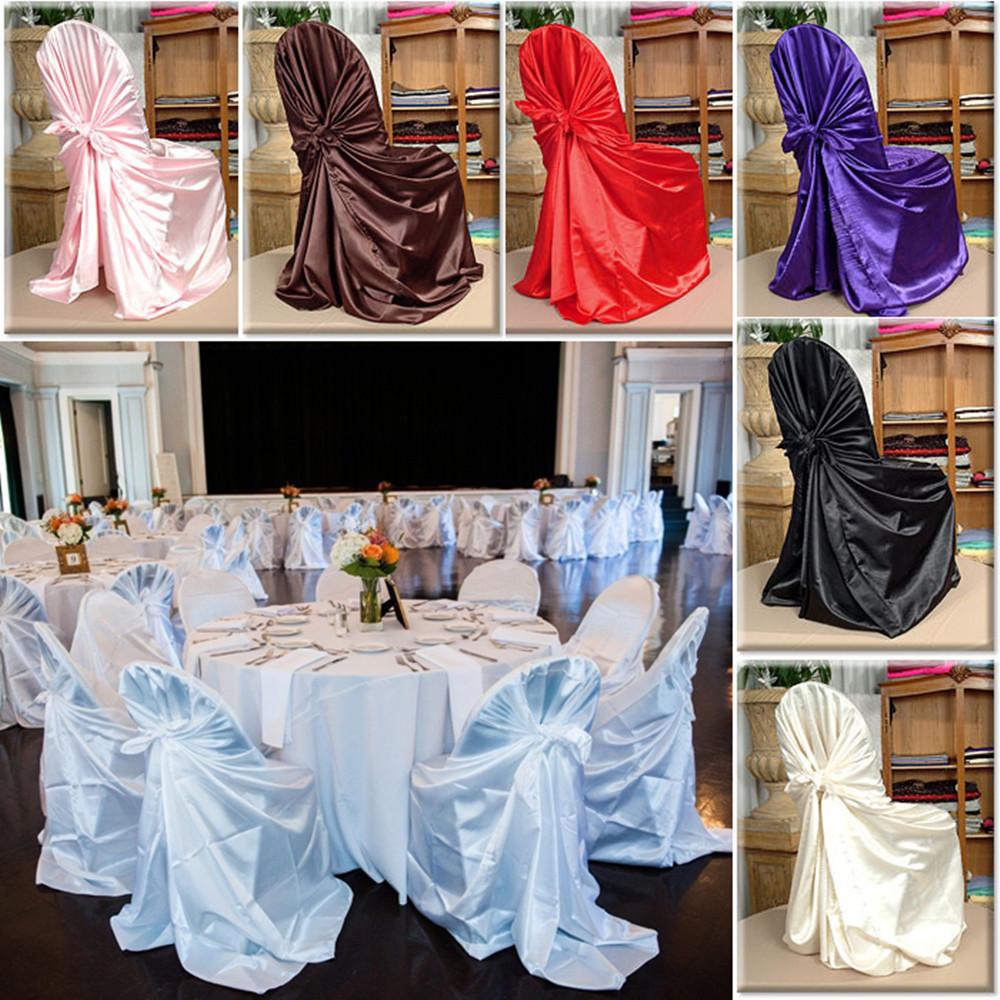 Chair Cover Express Hawaii Gaming Desk Chairs 1 Pcs Self Tie Satin Wedding Banquet Hotel Party Decoration Product Supplies 110cm 140cm In From Home Garden On Aliexpress Com
