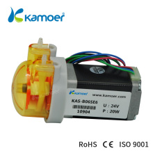 Kamoer stepper motor pump 12/24V  peristaltic mini pump (3 or 6 rotors , 11.5~71.5ml/min, 12V, 24v)