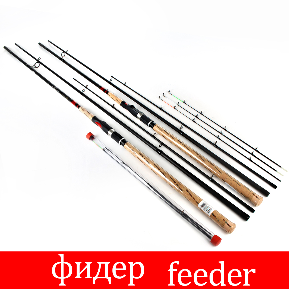 FTK Feeder 3 Sections High Carbon Super Power fishing rod CW L M H 3.6M 3.9M Lure Feeder Fishing Rod Feeder Rod ftk 99% high carbon feeder fishing rod c w 15 40g 2sec 40 90g 3sec carp rod superhard fishing rod