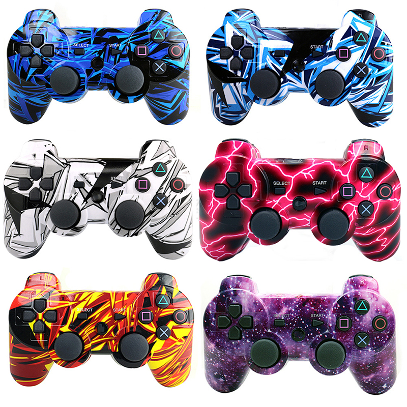 HOMEREALLY Gamepads for ps3 controller playstation3 for ps3 controller wireless dualshock 3 for PlayStation3 Joystick Accessory oem 5pcs ps3 400aaa for ps3