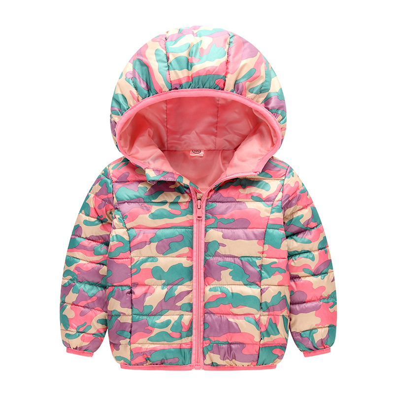 MAGGIE'S WALKER Baby Boys Girls Winter Down Coat Child Cotton-padded Coat Outerwear Toddler Kids Hooded Camouflage Jacket Coats 2013 winter child down coat baby set boys