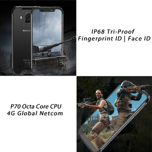 Image 5 - Blackview BV9600E 4GB 128GB IP68 Rugged Smartphone 6.21 FHD+ AMOLED Android 9.0 Global 16MP P70 AI Octa Core mobile phone
