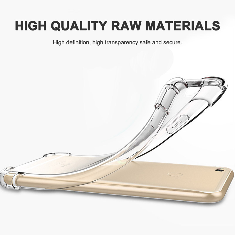 Для Сяо Mi Max 2 Бизнес прозрачные ультра тонкий задняя анти-капля антидетонационных защитный мобильный телефон кожи 6.44 дюймов крышка