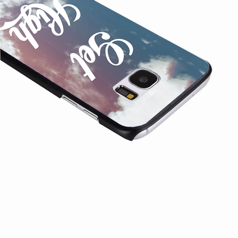 LvheCn phone case cover For Samsung Galaxy S3 S4 S5 mini S6 S7 S8 edge plus Note2 3 4 5 7 8 Get High Sky Quote