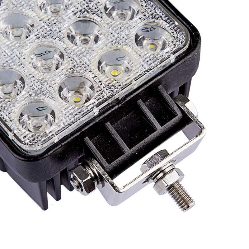 Willpower 4 นิ้ว 48 วัตต์ทำงาน LED Light น้ำท่วม Offroad โคมไฟหมอกรถ ATV รถบรรทุกรถแทรกเตอร์รถกระบะ UZA ATV UTV 12V 24V