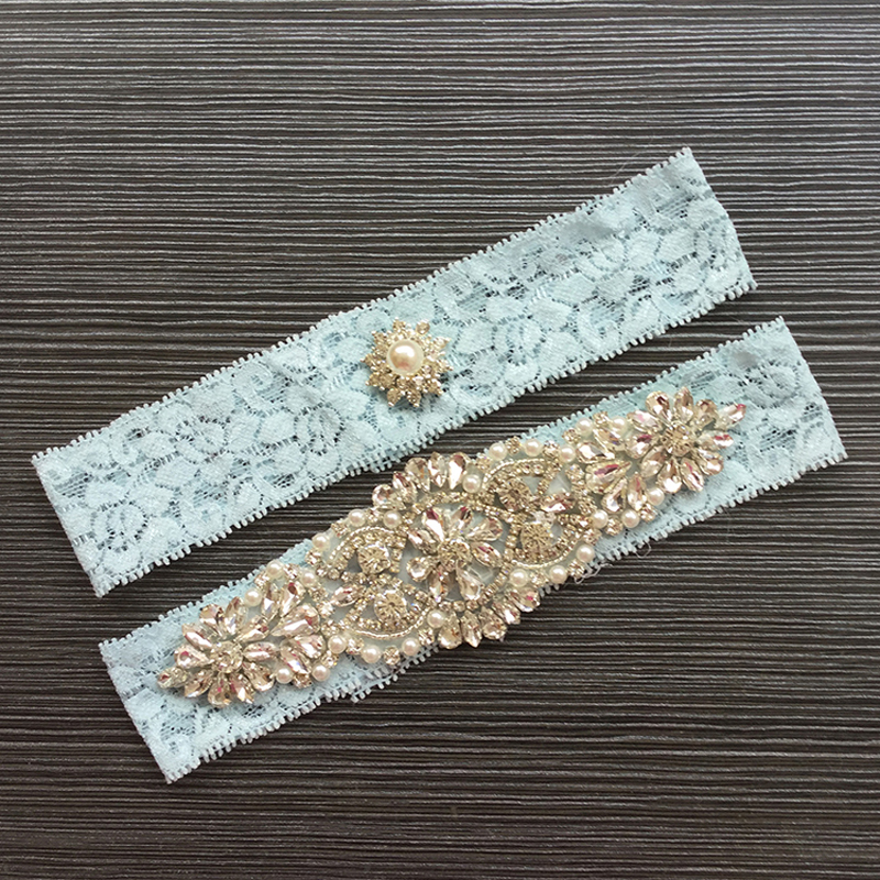 Wedding Leg Garter: Western Style NEW Elegant Bowknot Lace Wedding Garter Set
