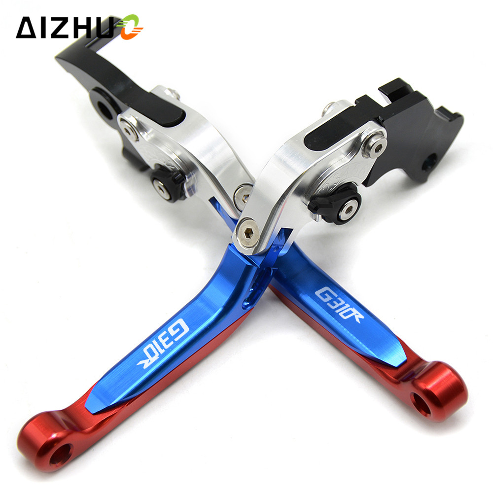 CNC Aluminum Motorcycle Brake Clutch Lever Adjustable Extendable Levers FOR BMW G310R G310 <font><b>R</b></font> <font><b>G</b></font> <font><b>310</b></font> <font><b>R</b></font> <font><b>G</b></font> 310R 2017 2018 image