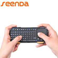 Seenda Mini Bluetooth 3.0 Keyboard With Touchpad For Computer Laptop Mini Keyboard For Samsung TV Android IOS Universal Keyboard