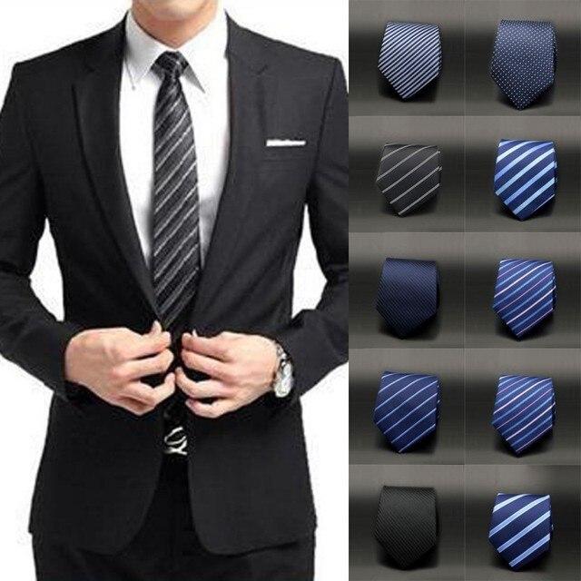 Men slim necktie tie party wedding classic jacquard woven plain men slim necktie tie party wedding classic jacquard woven plain skinny silk ccuart Images