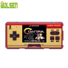 Wolsen 3.0 インチレトロポータブル家族ポケットゲームプレーヤー RS 20A 8 ビットミニコンソールビデオゲーム 638 ゲームで consolebuilt 最高のギフト