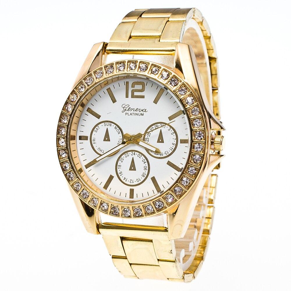 Women Watches Metal Retro Business Quartz Watches Alloy Strap Fashion Roman Numerals Men Watches Stainless Steel Dial