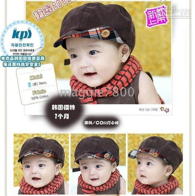 Children's Caps Beanies Baby hats headgears Toddlers Hats fleece caps - Baby Caps
