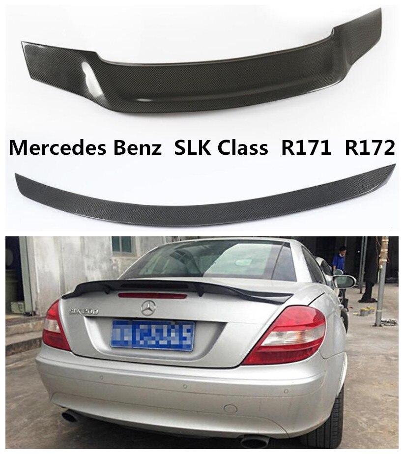 UNPAINTED 11-15 M-Benz R172 SLK Class SLK300 SLK350 SLK55 AMG Type Trunk Spoiler
