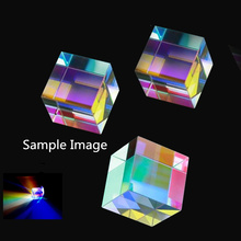AIBOULLY SP-1 Square prism Rainbow prism Stereo prism Physical experiment Optical experiment Student gift Stereo glass science ширма square prism