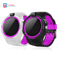 Kids Smart Watch 2018 Round Touch Screen Smartwatch GPS location for Children SOS Call Remote Monitor Baby