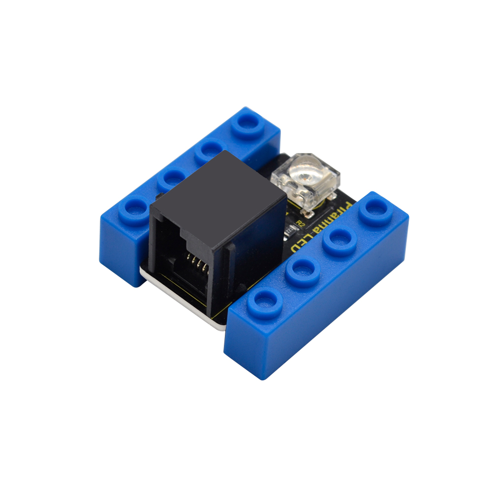 Kidsbits Blocks Coding Piranha LED Flicker Module For Arduino STEAM EDU (Black And Eco Friendly)