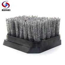 RIJILEI 10PCS/Set Diamond Abrasive Brush Frankfurt Antique for Concrete Cleaning Marble Polishing YG04