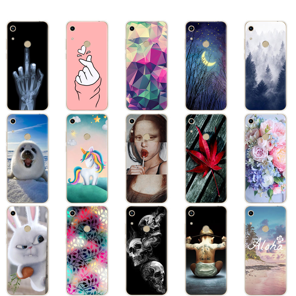 For Honor 8A Case For huawei honor 8A Silicon Soft TPU back Cover Phone Case On Huawei Honor 8A JAT-LX1 8 A Honor 8A pro JAT-L41 Баллон для дайвинга