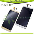 Black/White/Gold Touch Screen For Cubot H2 LCD Display Screen Assembly + Free Shipping