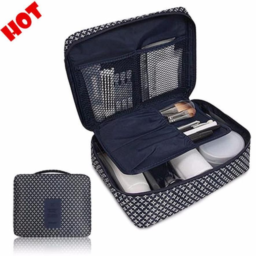 Pockettrip Clear Cosmetic Makeup Bag Toiletry Travel Kit Organizer t13