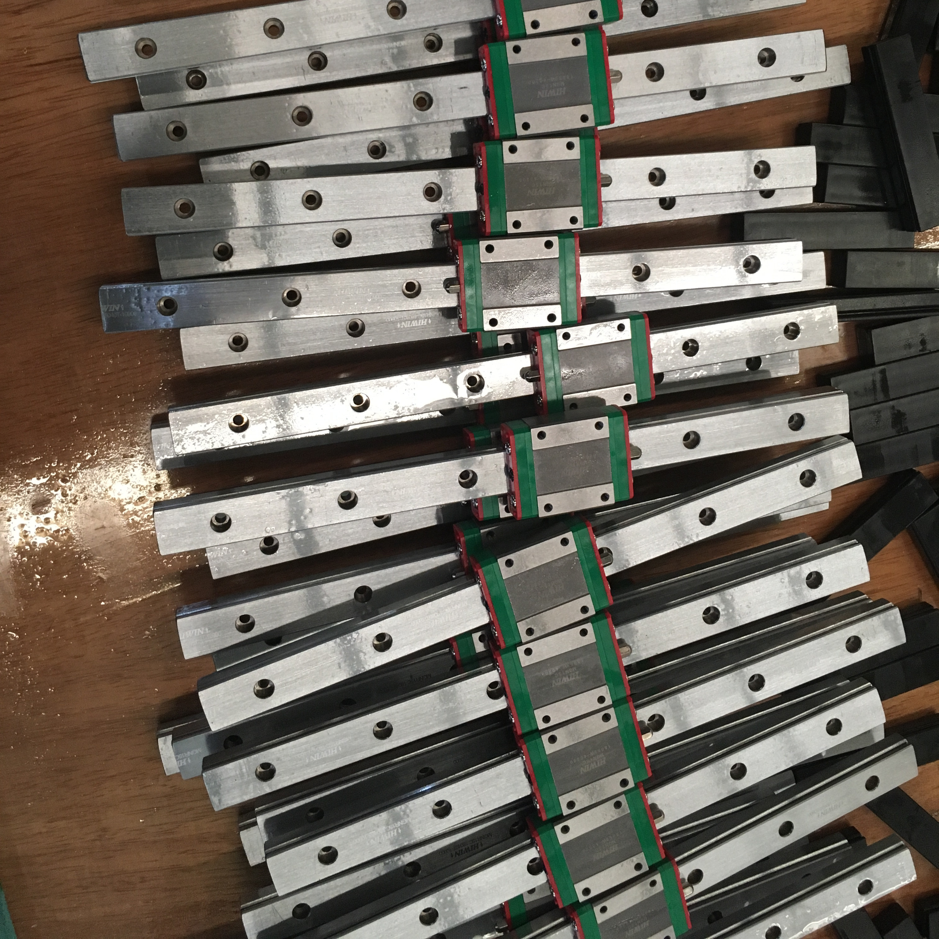 Image 4 - Original  Hiwin MGN12H carriages+400mm L MGNR12C linear rails 5pcs for BLV MGN Cube 3d printer Hiwin MGN12H rail-in 3D Printer Parts & Accessories from Computer & Office