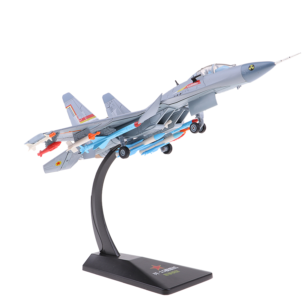 1:72 Scale Alloy Airplane Model J15 Chinese Carrier Aircraft Military Fighter Diecast Plane Model Toys Kids Gift Decoration-in Model Building Kits from Toys & Hobbies    2