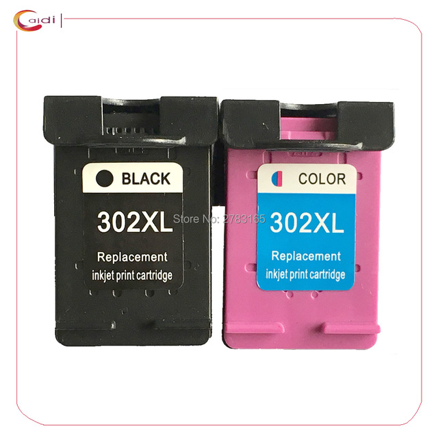 2 Color Compatible HP302 XL Ink Cartridge For HP302XL 302 HP ENVY 4520 4521