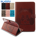"""7.9"""" Case For Apple iPad Mini 4 PU Leather Luxury Cartoon Stand New Cover for ipad A1538 A1550 7.9 inch Coque Fundas Wallet Girl"""