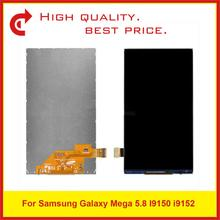 купить 10Pcs/Lot 5.8 For Samsung Galaxy Mega 5.8 I9150 i9152 Lcd Display Screen 9150 9152 LCD Display Free Shipping+Tracking Code дешево