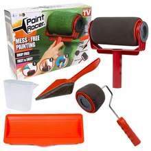 5 шт бесшовные краски бегунок pro роликовые кисти ручка инструмент