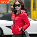 Two side Plus size Women coat Winter and Autumn 2016 New Female Cotton-padded outwear Lady Jackets Parkas coats Short  M61