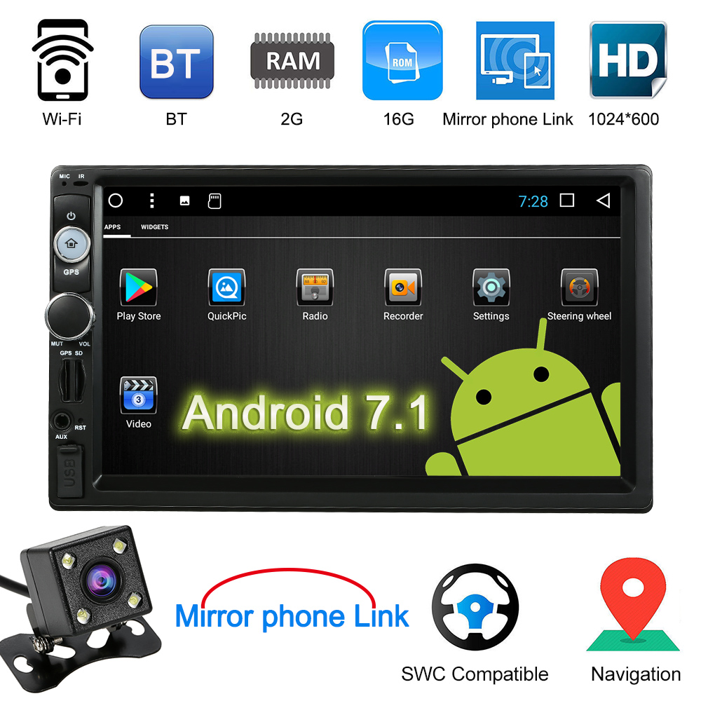 Aliexpress.com : Buy Universal 7inch Smart Android 7.1 2