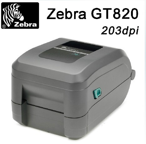 Brand Zebar printer GT820 desktop barcode label adhesive sticker printer 203DPI With one year free Warranty