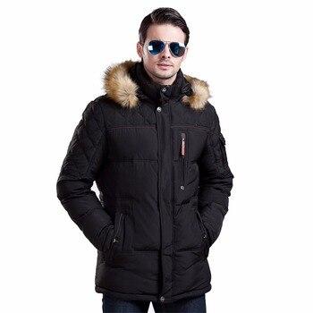 Icebear 2015 Новинка зимы Куртка Мужская теплое пальто модная повседневная куртка средней длины утолщение пальто мужчины для зимней 15MD927D