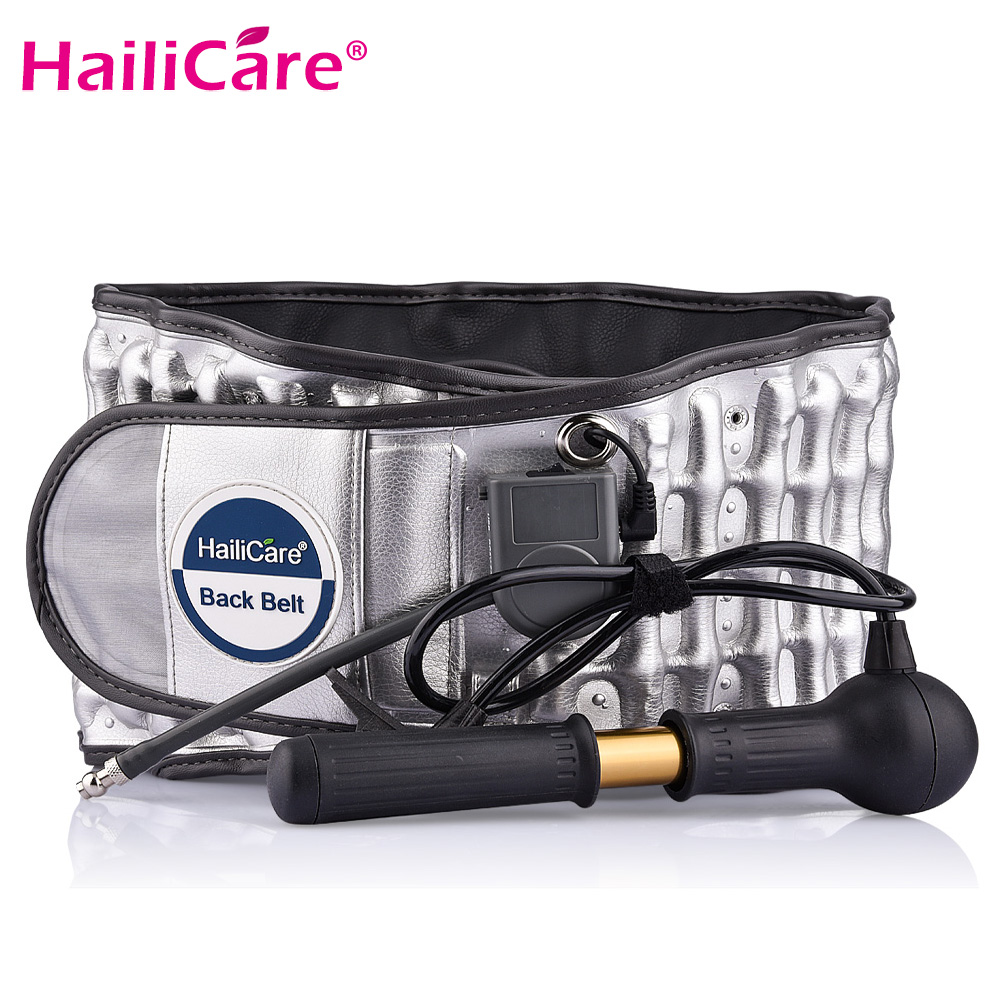 Hailicare Back Belt Spinal Air Traction Physio Decompression Back Brace Lumbar Disc Herniation Relaxation Massage