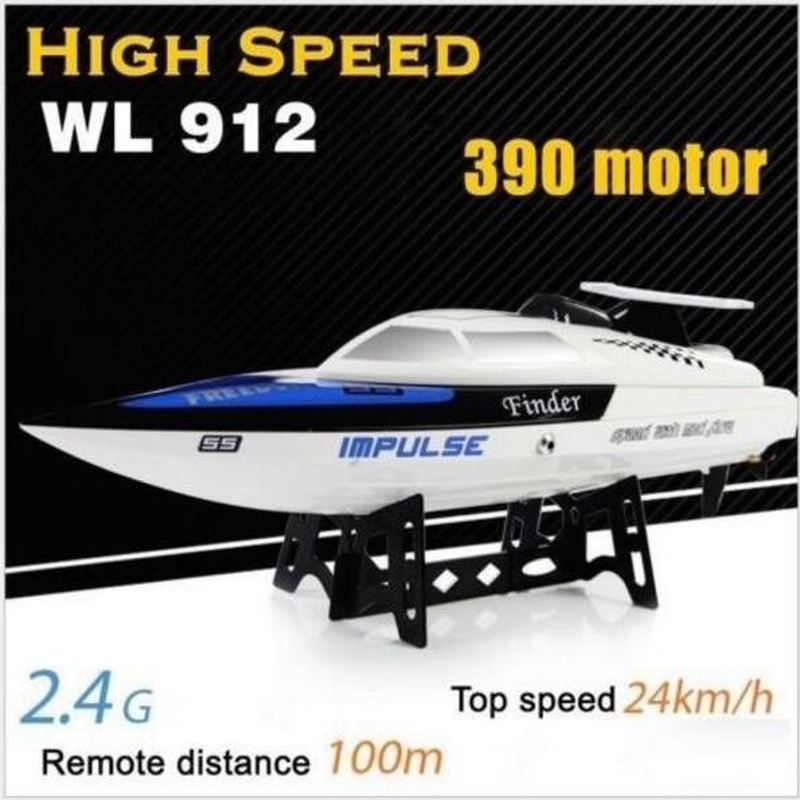 WLToys WL912 nouveau G Radio contrôle 2.4G vitesse bateau de course modèle jouet bateaux télécommande bateau garçons jouets