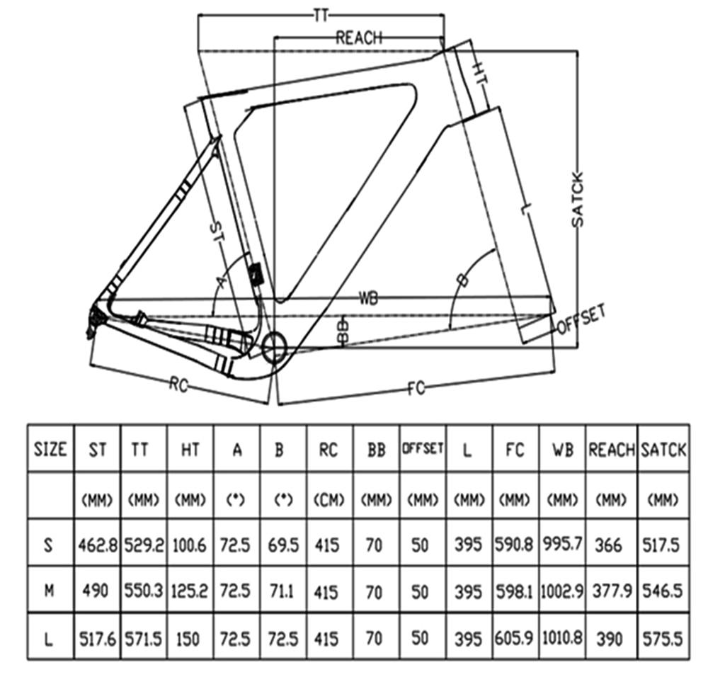 Cyclocross-Gravel-Frame-Bike-Aero-Road-Carbon-Frame-Disc-Brake-Tapered-Bicycle-Frame-Thru-Axle-142x12mm