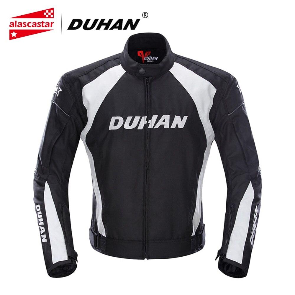 DUHAN Motorcycle Jacket Summer Men's Motocycle Touring Jacket Waterproof Racing Sports Moto Jacket With Motorcycle Protector