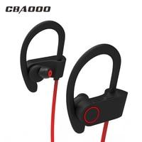 CBAOOO U8 Bluetooth Headphones Sports Wireless Bluetooth Earphone Setero Headset Sweatproof Headphone With Mic For IPhone