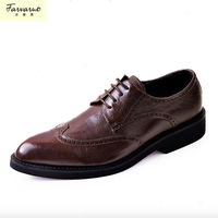Luxury Brand Newest Vintage Mens Oxford Shoes Handmade Royal Blue Luxury Party Wedding Dress Patina Shoe