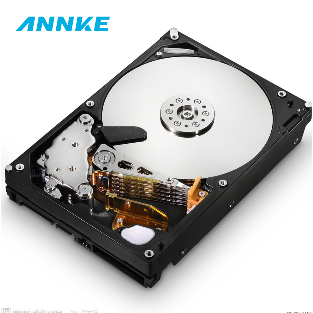 3.5 1000G 1TB 2TB 3TB 4TB 5700RPM SATA Professional Surveillance Hard Disk Drive Internal HDD For CCTV DVR Security System Kit