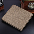 ew Men Short Wallets Balck Brown Bifold Wallet Mens Brand Leather Card holder Coins Purses Pockets D1054-2