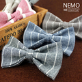 De lujo de Lana A Rayas corbata de Lazo para Los Hombres 2016 Nueva Moda Mans Corbatas Pajaritas Lazos de Mariposa Café Negro Rojo Al Por Mayor de Accesorios