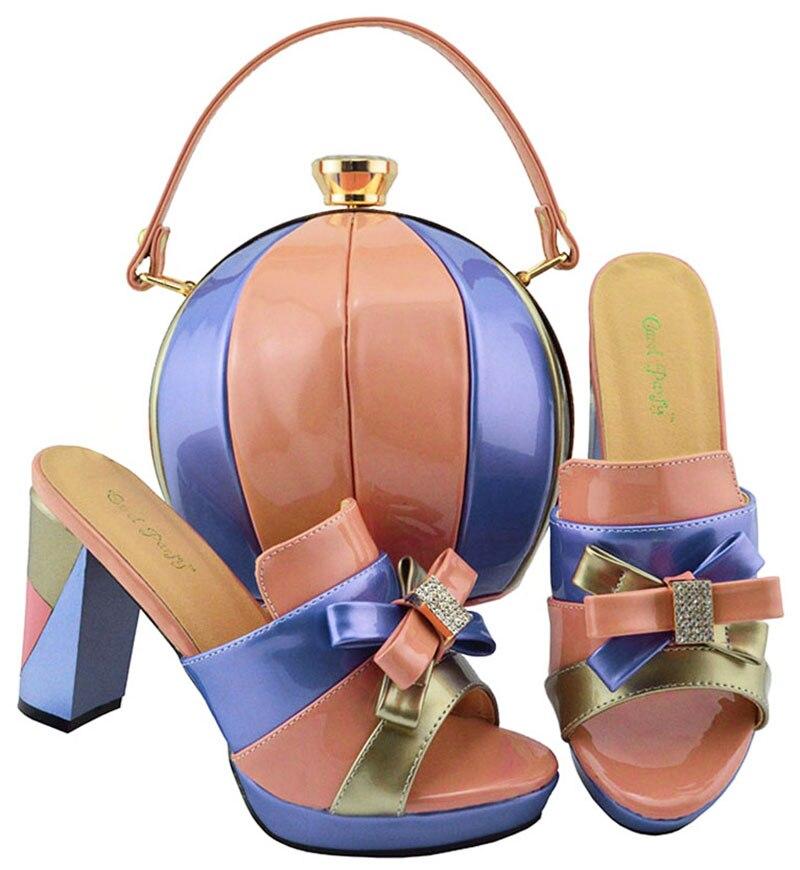 Sandalias 42 Bolso 5 Africana Tamaño 7 Embragues Melocotón Zapatos Partido Ebi Azul Pulgadas Y Precioso Aso 38 Sb8142 3 Sandalia vqqXztw